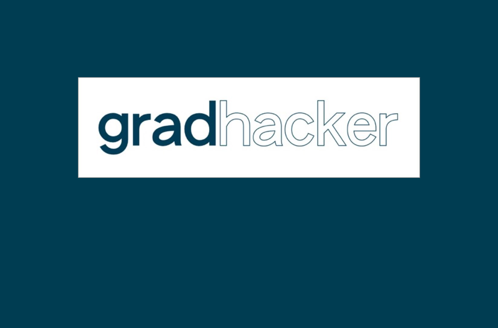 GradHacker Imagery