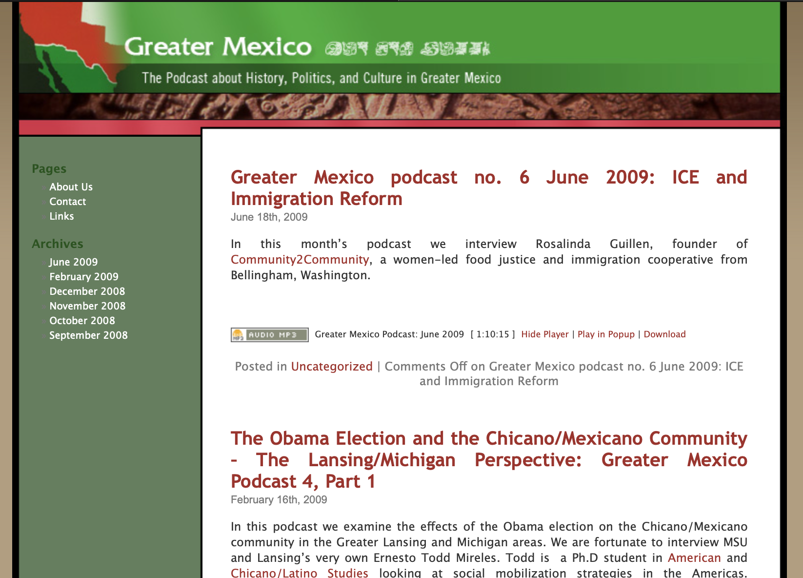 Greater Mexico Podcast